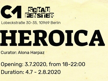 Circle1 Gallery at Schau Fenster | Heroica Group Exhibition | 2020